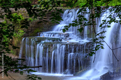 Summer Waterfall - 184447892
