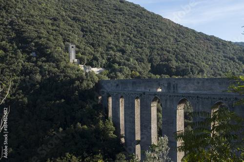 Naklejka Ponte di Spoleto
