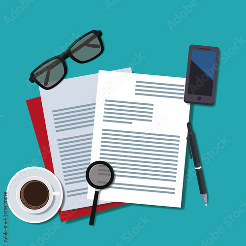 Office work topview icon vector illustration graphic design - 184451096