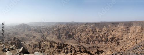 Staande foto Panoramafoto s View over Al Ula