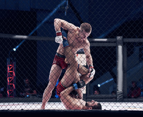 MMA in a cage