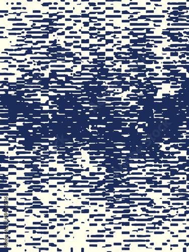 Plexiglas Abstractie Abstract grunge vector background. Monochrome raster composition of irregular graphic elements.