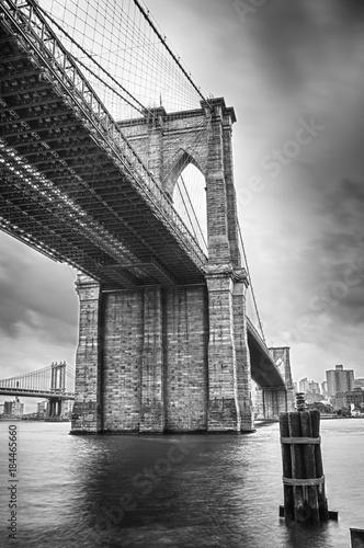 Deurstickers Brooklyn Bridge Brooklyn Bridge.