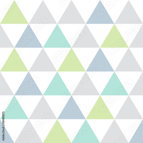 fototapeta na ścianę seamless background pattern with triangles