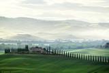 Tuscany countryside panorama, Italy - 184490827