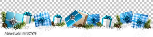 Christmas gift boxes - 184507679