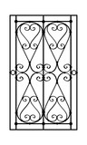 Iron fence vector illustration - 184519276