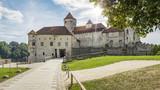 the castle of Burghausen Bavaria Germany - 184529812