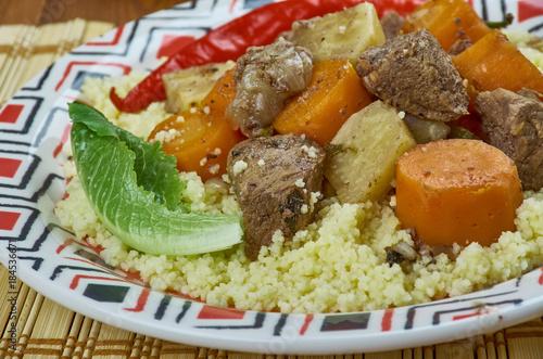 Fotobehang Marokko Morocco royal couscous