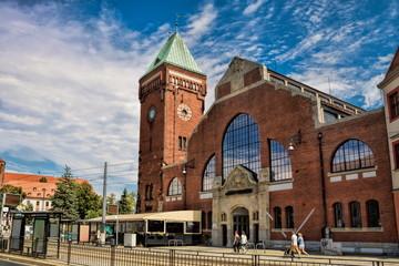 Wroclaw, Historische Markthalle
