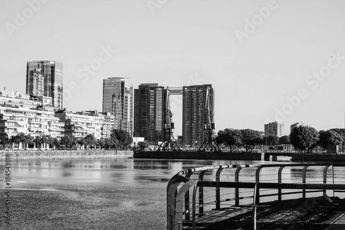 Foto op Canvas Buenos Aires Puerto Madero Detail