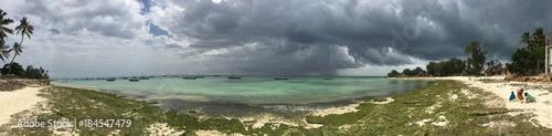 Tuinposter Zanzibar Beach in Zanzibar