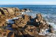 Côte rocheuse de Lesconil dans le Finistère