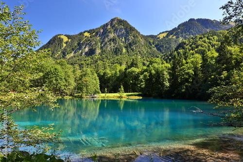 Deurstickers Bergen Christlessee bei Oberstdorf, Bayern