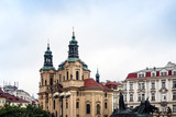Old Town ancient architecture in Prague, Czech Republic - 184563092
