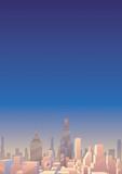 Cityscape Vertical 3 - 184566017