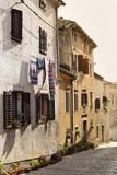View of Mediterranean Street in Istria. Croatia. - 184568468