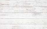 Grunge background. White wooden texture.  Peeling paint on an old wooden floor. - 184580894