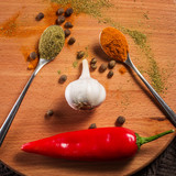 spicy seasonings for various dishes - 184586049