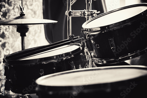 Drums Set in Room - 184605088