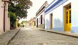 Beautiful antique street in Colonia del Sacramento, Uruguay