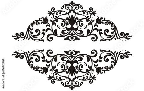 border element floral - 184662402