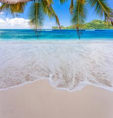 anse Boileau, plage de Mahé, Seychelles