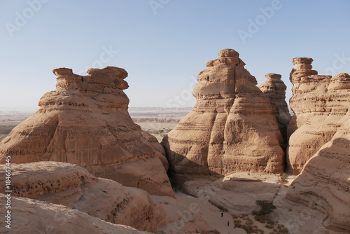 Madain Saleh high point
