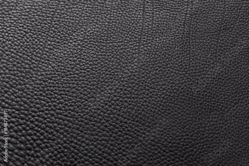 Fototapeta Leder Textur schwarz Hintergrund