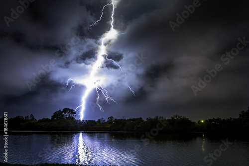Close Lightning Poster