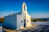 Church in Naxos, Greece. - 184681826