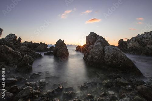 Plexiglas Zee zonsondergang Scorci della Riviera di Ulisse #1. Italy