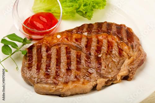 Plexiglas Steakhouse Rib eye steak