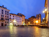 Rome. Fountain on Rotunda Square. - 184727456
