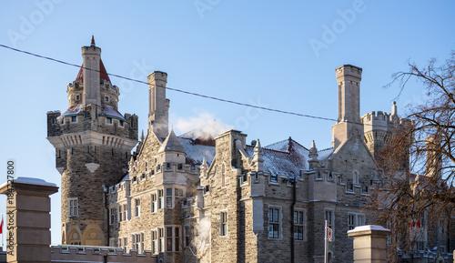 Keuken foto achterwand Toronto Un Chateau au Canada
