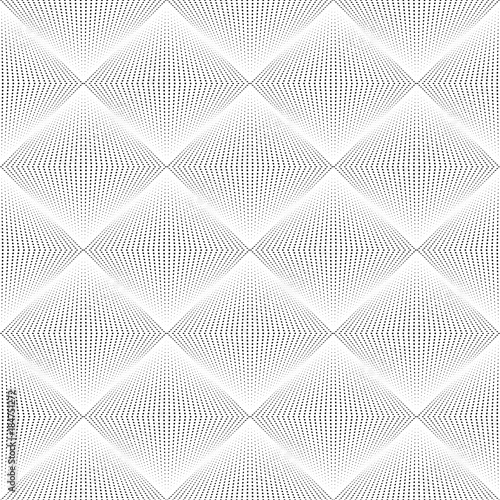 Checkered geometric background pattern. Black and white. - 184751272