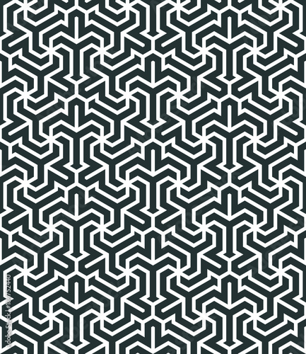 Abstract geometric background. - 184752440