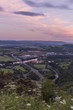 Sunset skyline of Perth and the River Tay, Scotland - 184752670