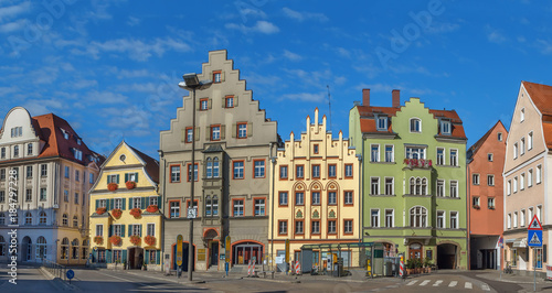 Foto Murales Arnulf Square in Regensburg, Germany
