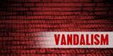 Vandalism Security Warning - 184805005