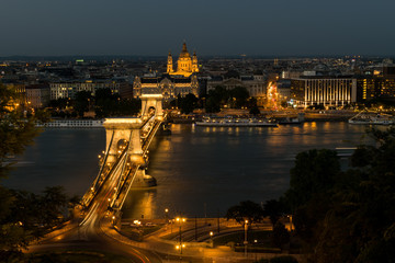 The bridge in Budapest
