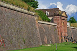 Neuf Brisach, France - july 23 2016 : fortification in summer - 184823809