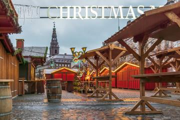 Christmas Market at Amagertorv Copenhagen