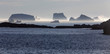icebergs steaming in afternoon sun, Fogo Island, Newfoundland