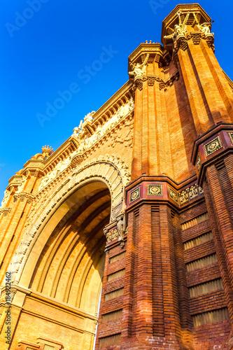 Papiers peints Barcelone Arc de Triomphe
