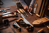 Woodworking tools - 184945286