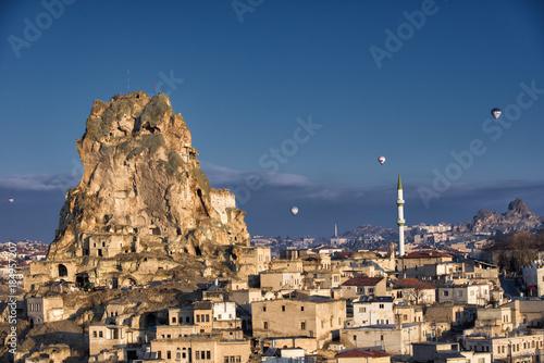 Ortahisar town , Cappadocia, Turkey