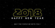2018: May the force and happiness be with you !