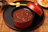 Traditional Japanese Dessert - Red bean sweet soup - 184973871