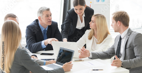 Business team at meeting